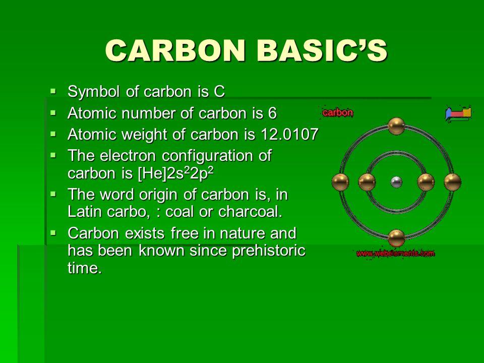 Periodic table coal periodic table symbol periodic table of carbon basics symbol of carbon is c atomic periodic table coal urtaz Choice Image