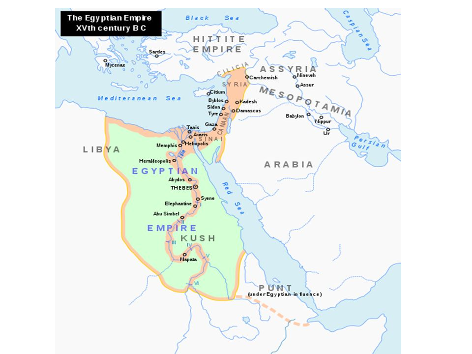 The Book Of Genesis Perspectives Ppt Download - Map of egypt in 1450 bc