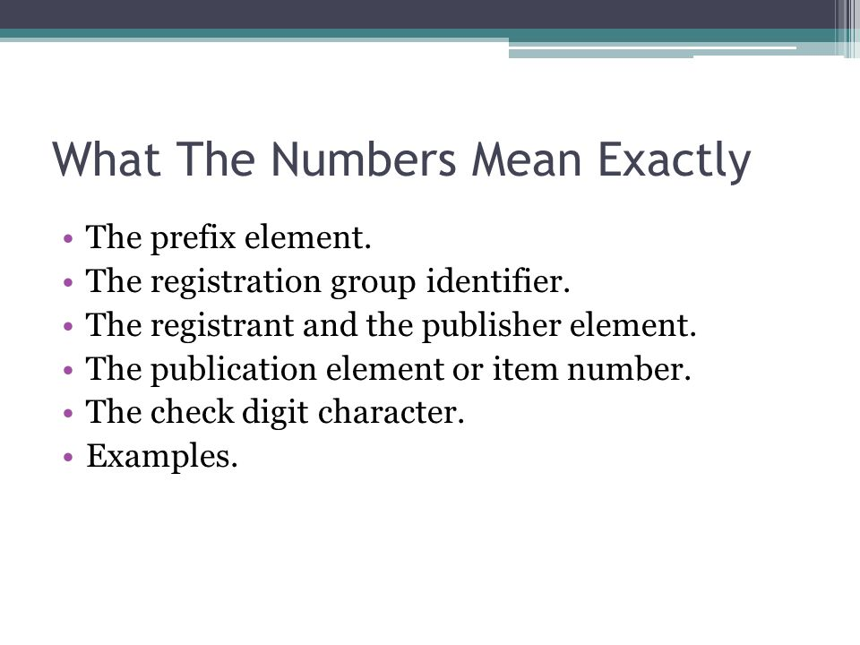 The prefix element. The registration group identifier.