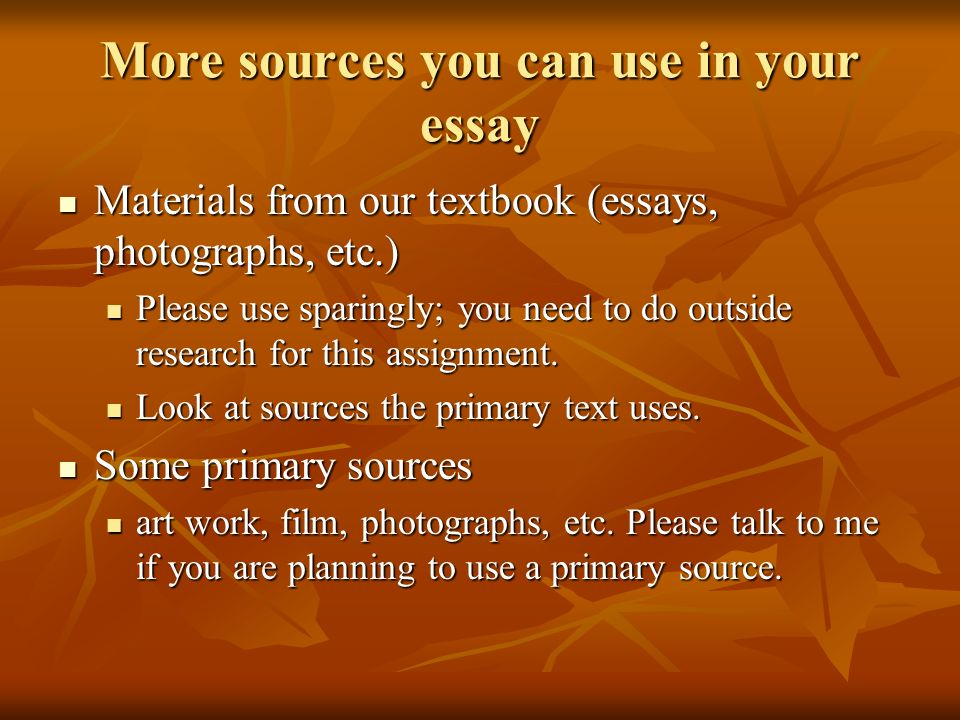 primary source critique essay