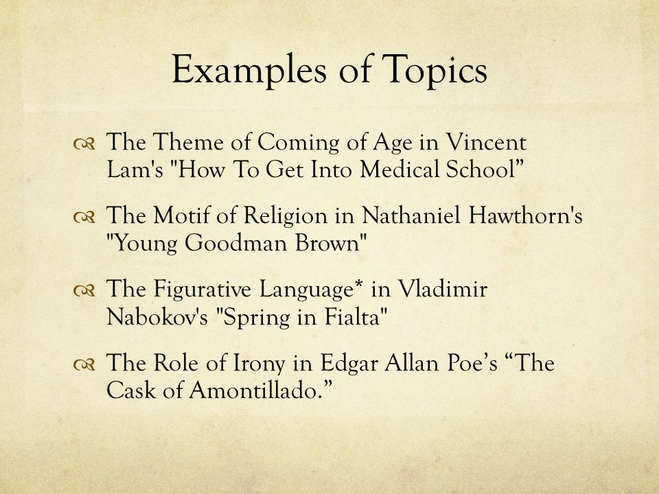 young goodman brown 4 essay Is this is good introduction to a research paper on young goodman brown by nathaniel hawthorne american author nathaniel hawthorne is known for incorporating historical information about the.