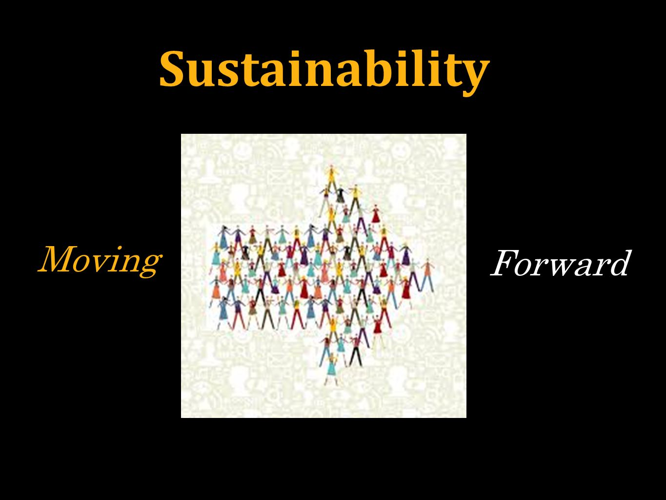 Sustainability Moving Forward