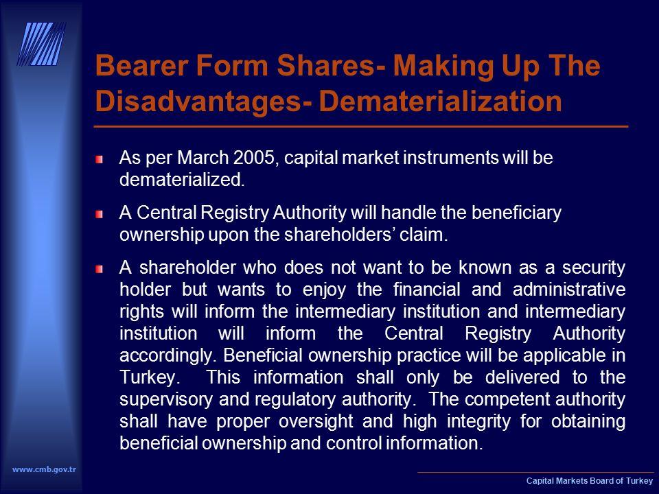 Capital Markets Board of Turkey. Capital Markets Board of Turkey ...