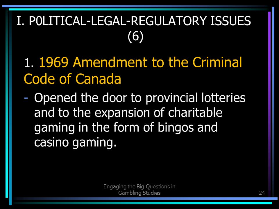 Gambling in canada from vice to disease to responsibility vintage japanese gambling