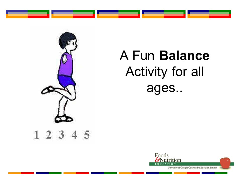 A Fun Balance Activity for all ages..