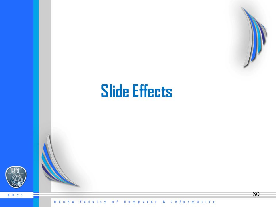 Slide Effects 30