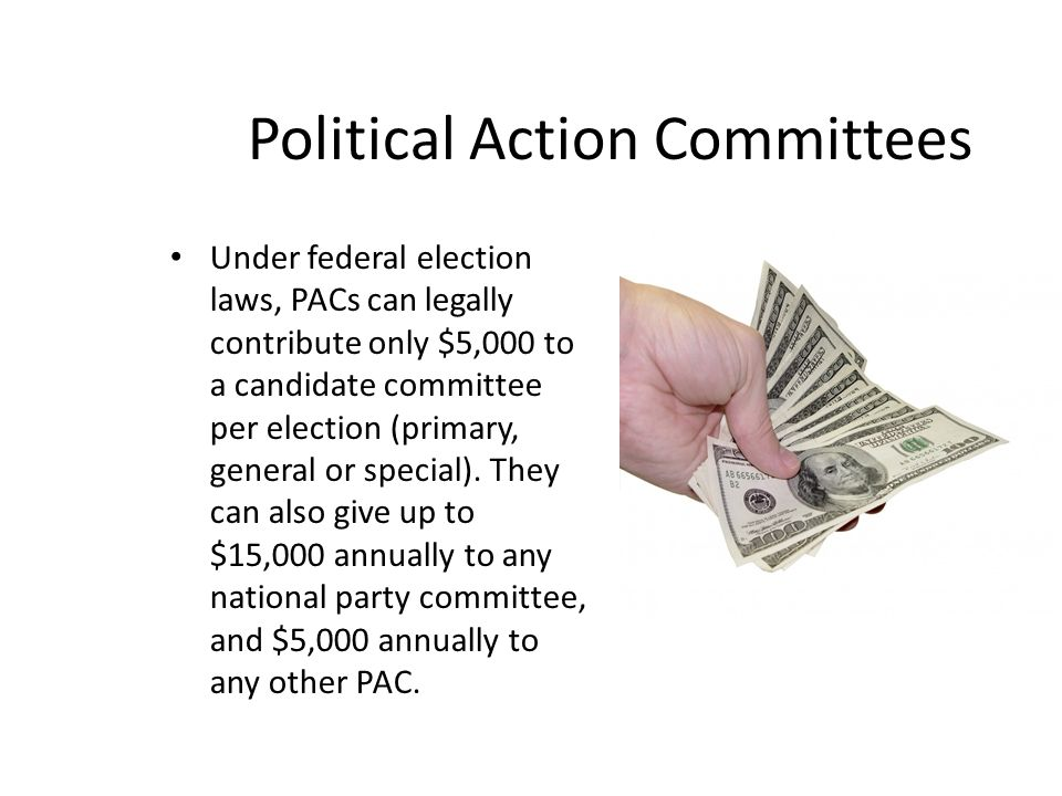 Should Political Action Committees be Eliminated?