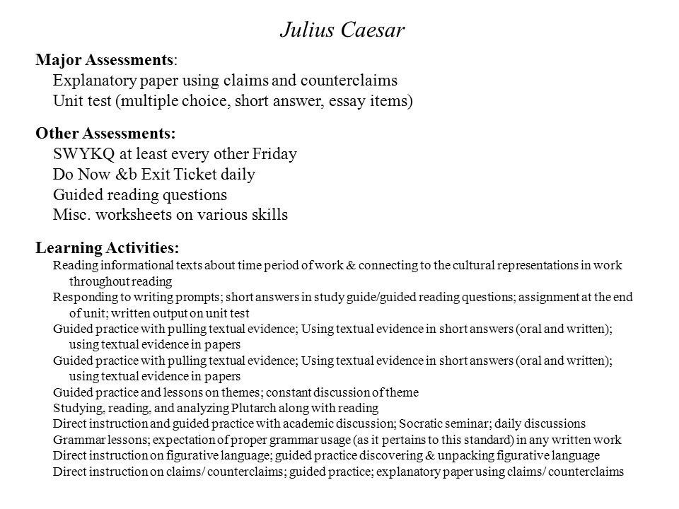 julius caesar themed creative writing essay 1 outline structure for literary analysis essay i catchy title ii paragraph 1: introduction (use hatmat) a hook b author c title d.
