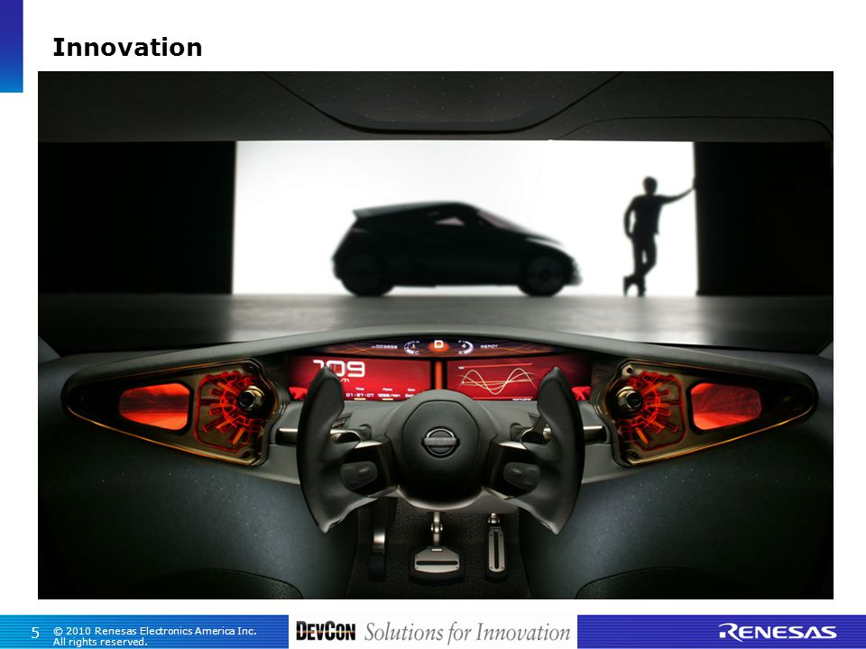 5 © 2010 Renesas Electronics America Inc. All rights reserved. Innovation