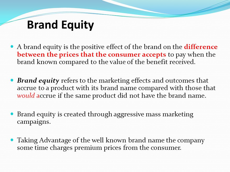 effect of branding on the consumer The effect of branding on consumer buying behaviour among investigate the various factors that affect consumer buying behaviour in the textile industry in ghana.