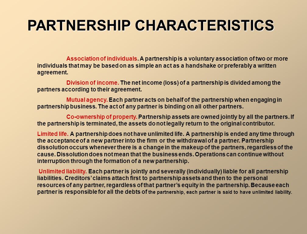 Accounting For Partnerships Unit 10. Illustration 10-1 Partnership