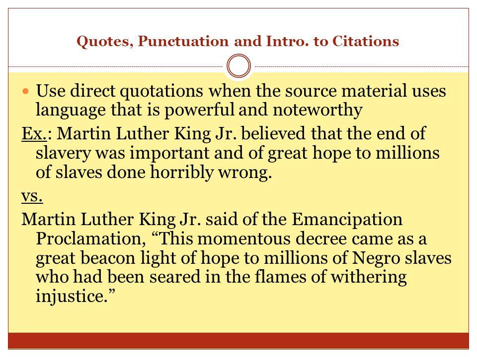 quotes in essays punctuation