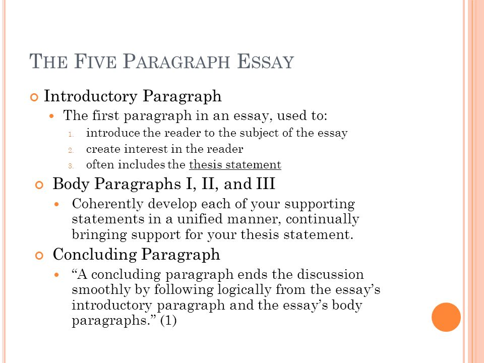 seven paragraph essay A personal essay, in the broadest sense, is a written composition which contains information and personal opinions about a specific individual (usually famous and influential individuals) it is one of the most common essays given as an assignment to students of different levels.