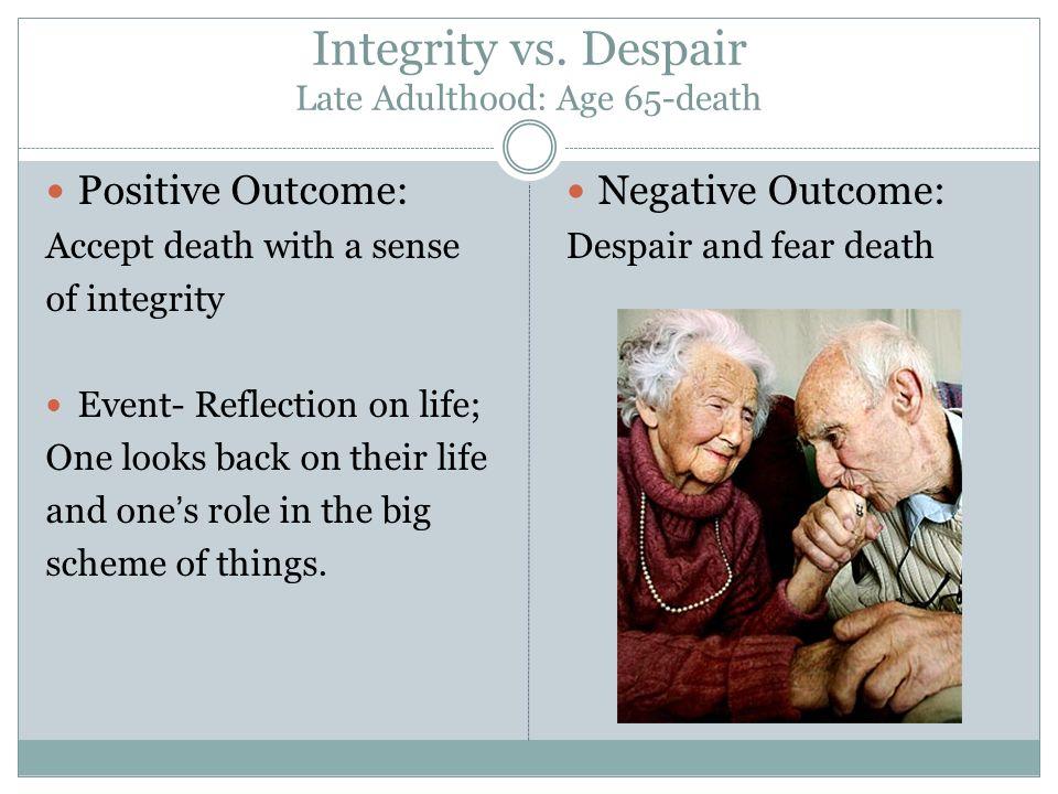Integrity vs.