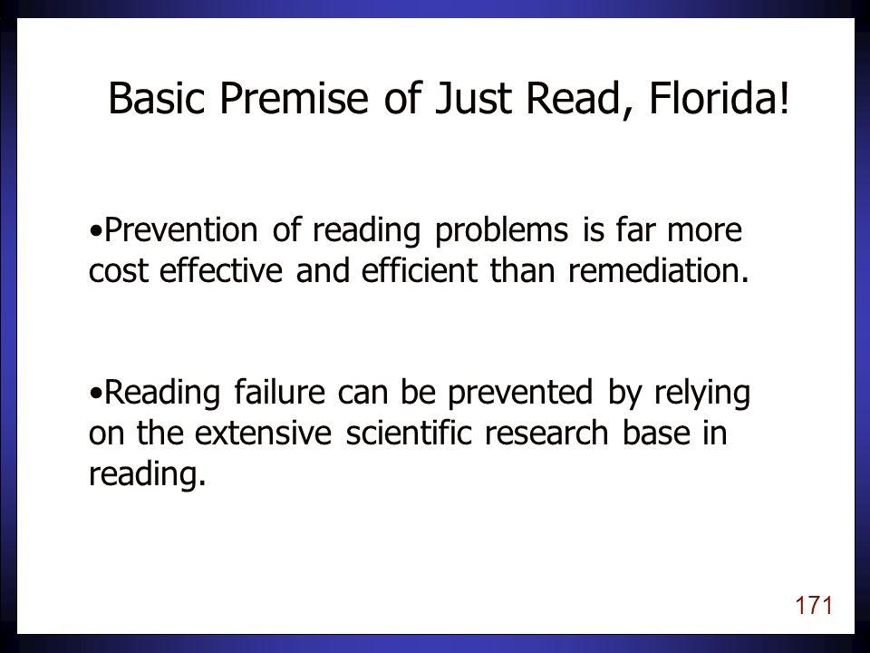 170 Just Read, Florida.