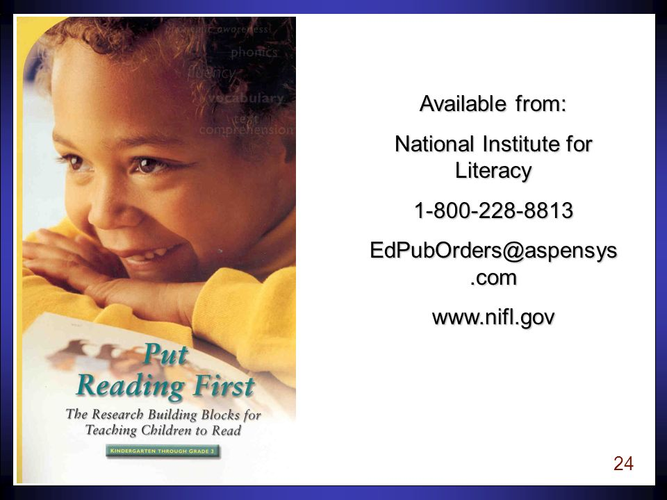 23 In 1997, United States Congress National Institute of Child Health and Human Development & U.S.