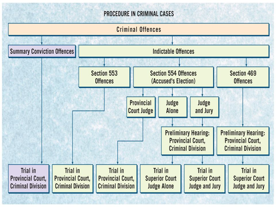 Figure 7.5Court Procedure for Criminal Cases, p. 166