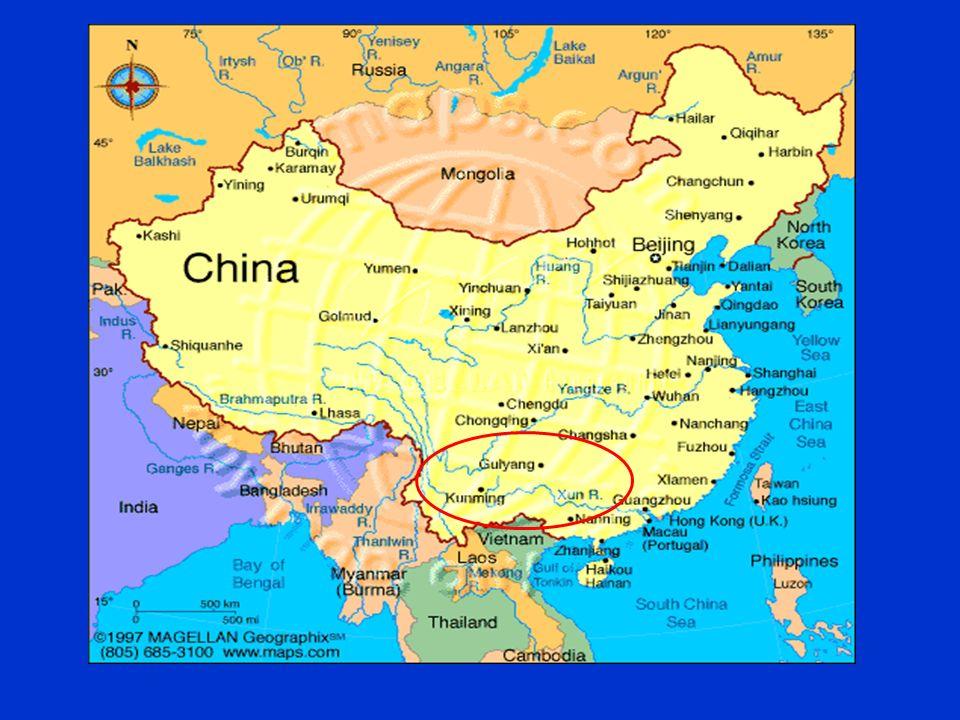 china map guangxi
