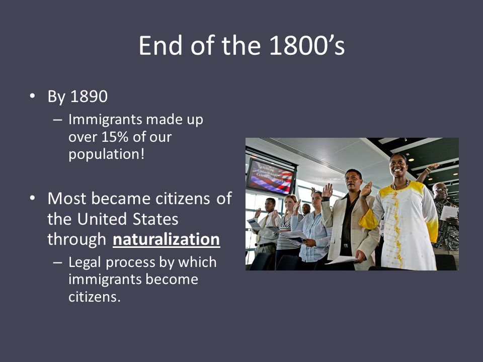 If your ancestors came to the US before the 1870s or so, were they