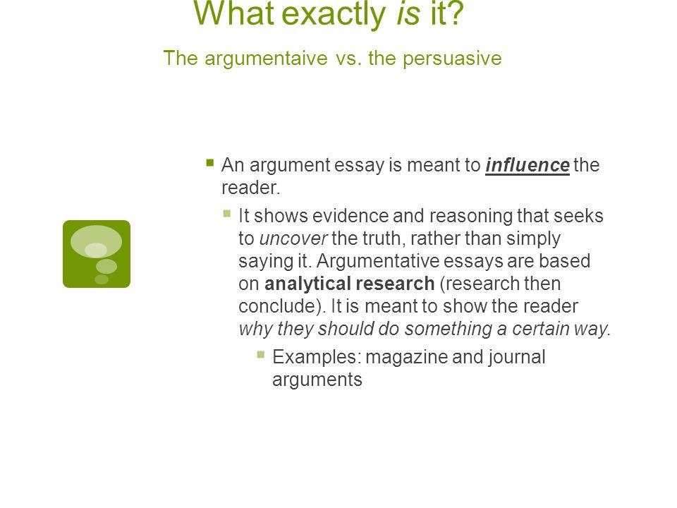 Researched Argument Essay