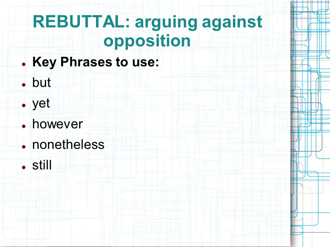 What is the purpose of a refutation in an argumentative essay?