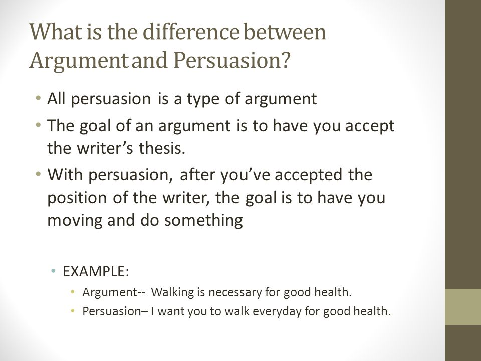 intro to argumentative essays what is argument all writing is  what is the difference between argument and persuasion