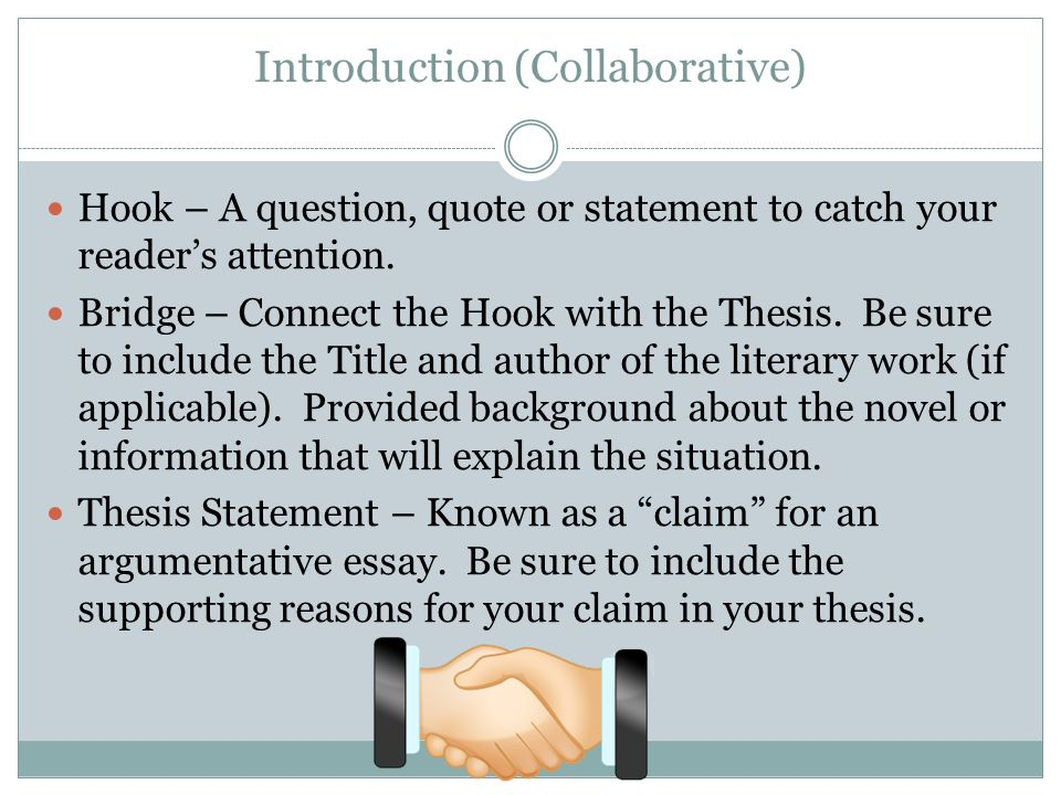 Thesis Statement Essays