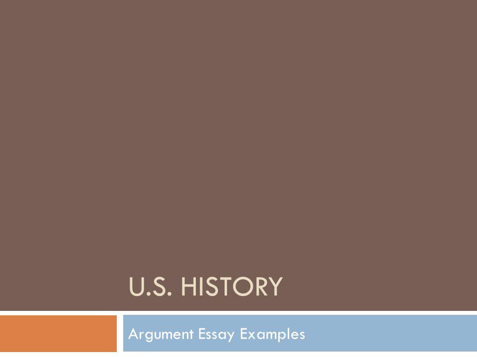 u s history argument essay examples essay prompt and claims  1 u s history argument essay examples