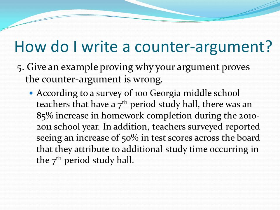 counter argument in essay writing Classic model for an argument below is a basic outline for an argumentative or persuasive essay this is only one possible outline or organization.