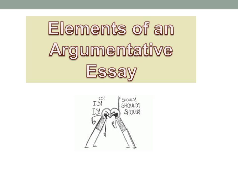 elements of persuasive essay