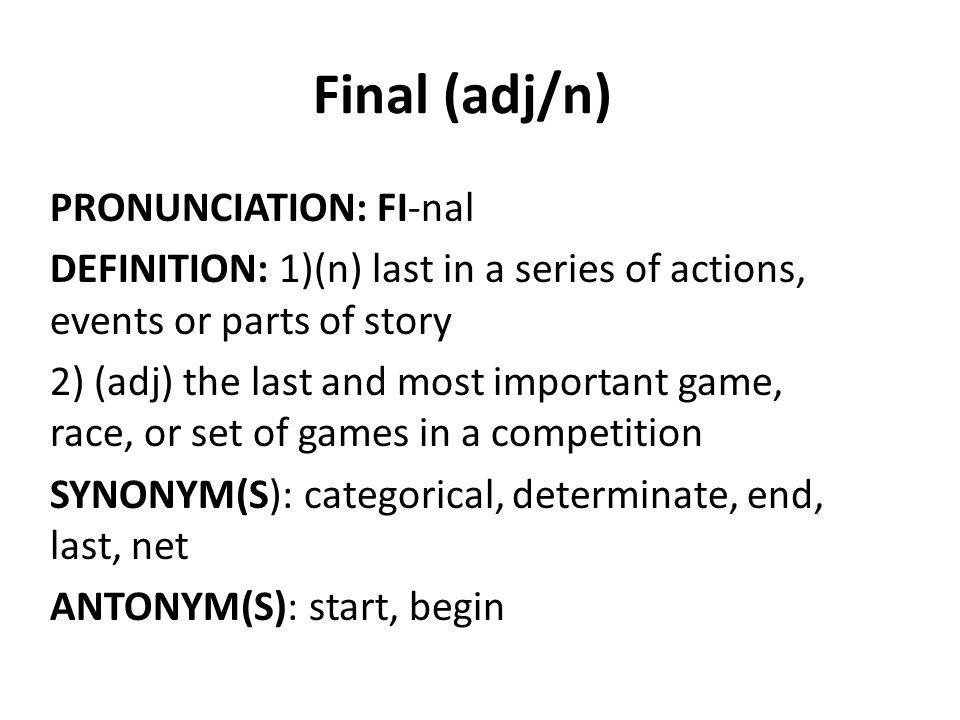 1 Final ...