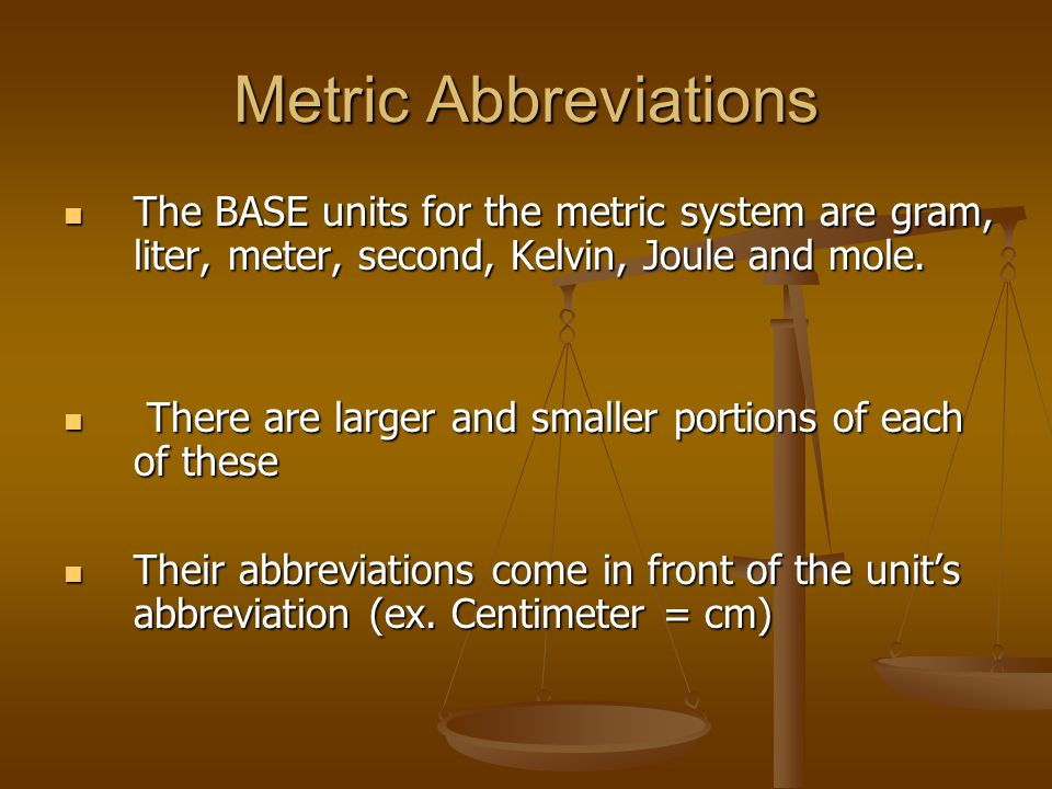 English to Metric Comparisons Which is larger. Which is larger.
