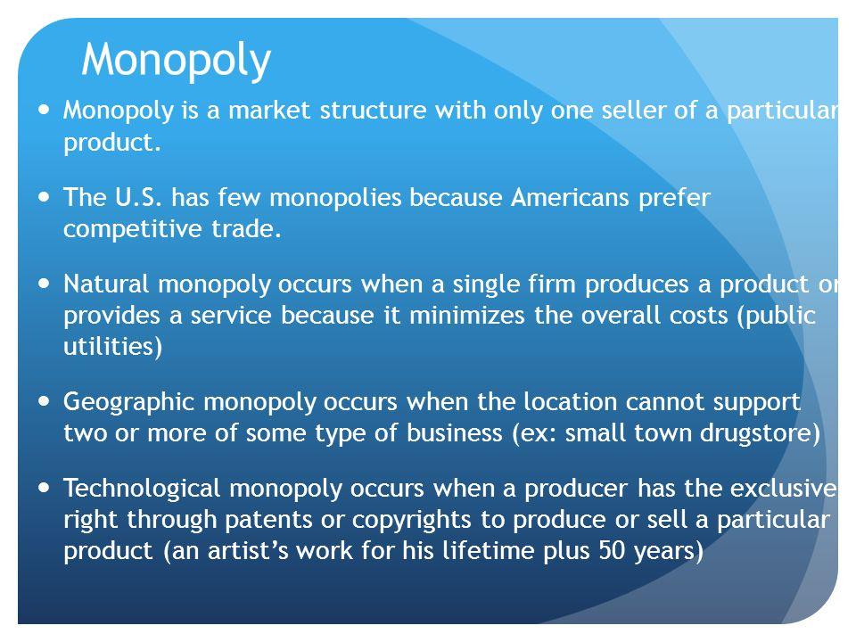 monopoly essay