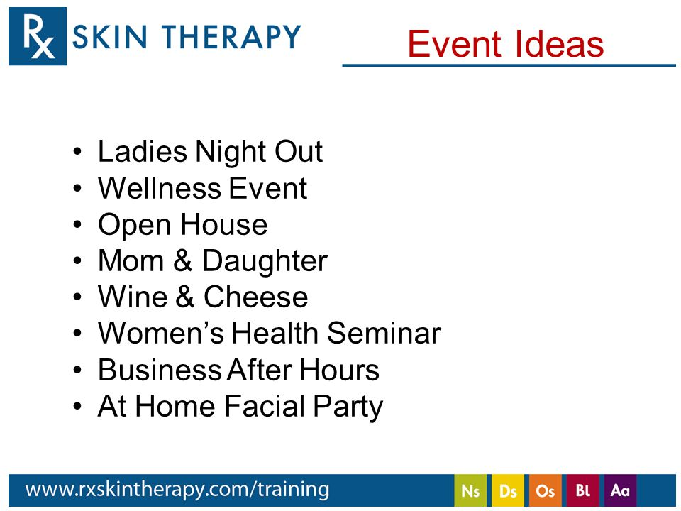 The elements of beautiful skin Ladies Events Hali Wiley, National ...
