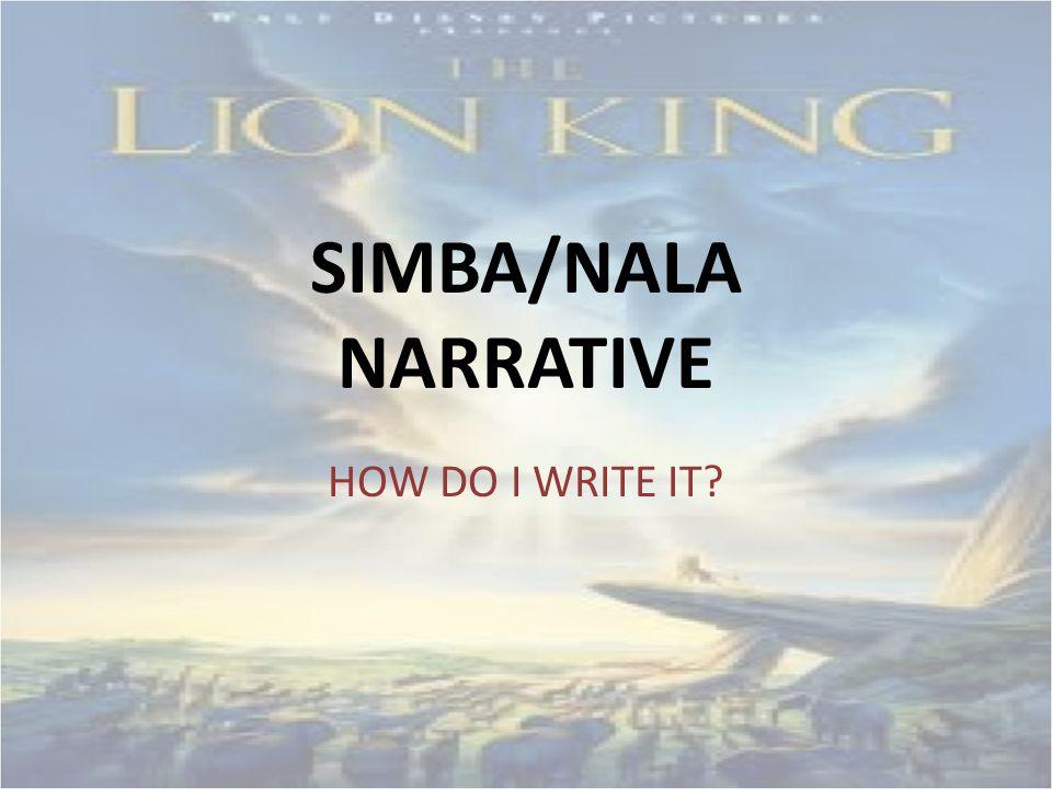 How do I Write a Narrative?