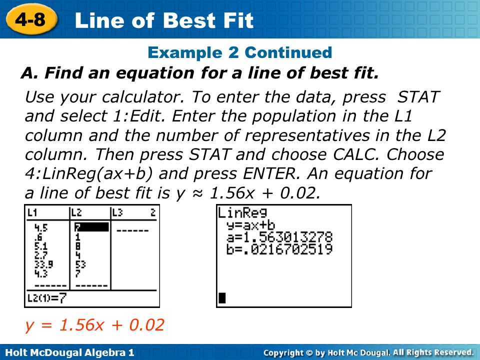 How To Calculate The Equation Of A Line Best Fit Jennarocca – Line of Best Fit Worksheets