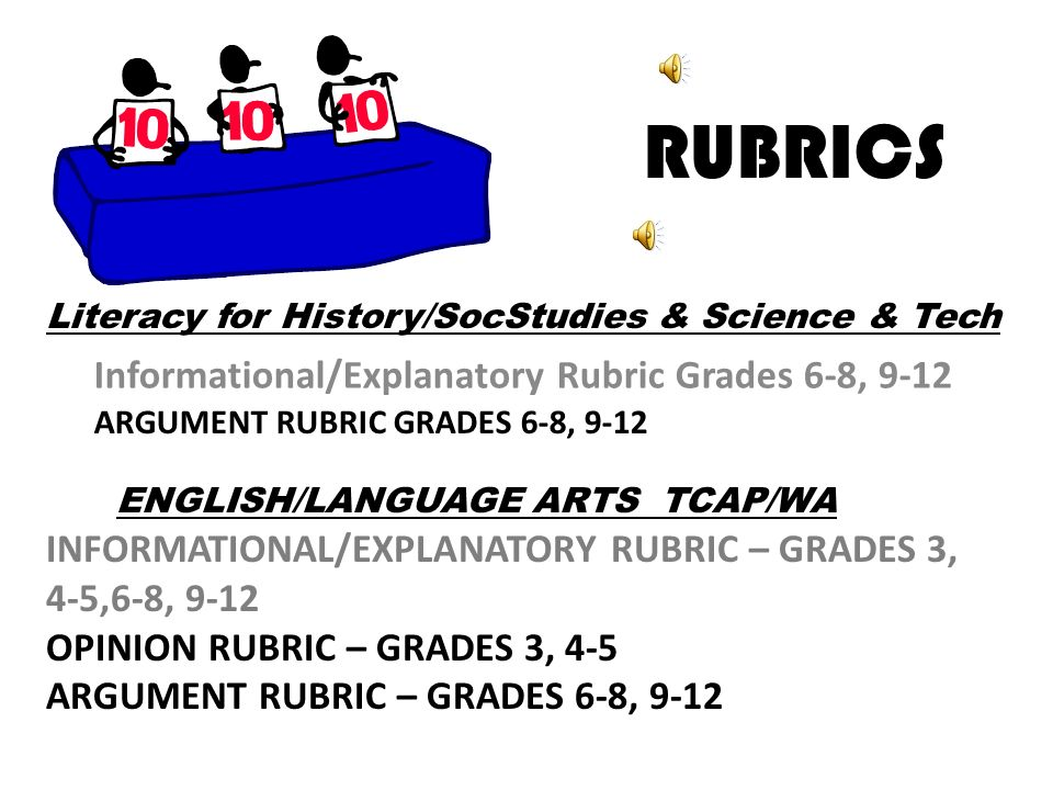 research based argument essay rubric