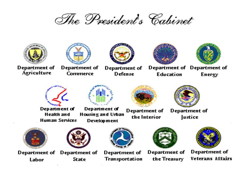 Cabinet Positions Departments - thesecretconsul.com
