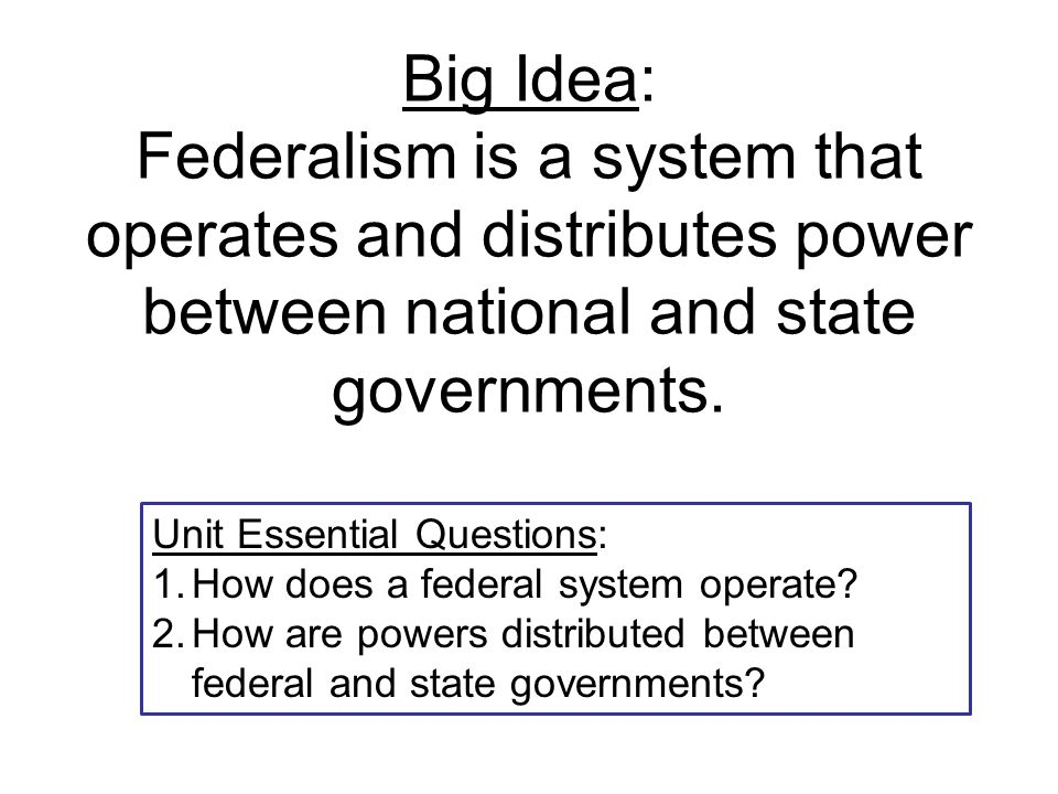 Is a question about American Government?