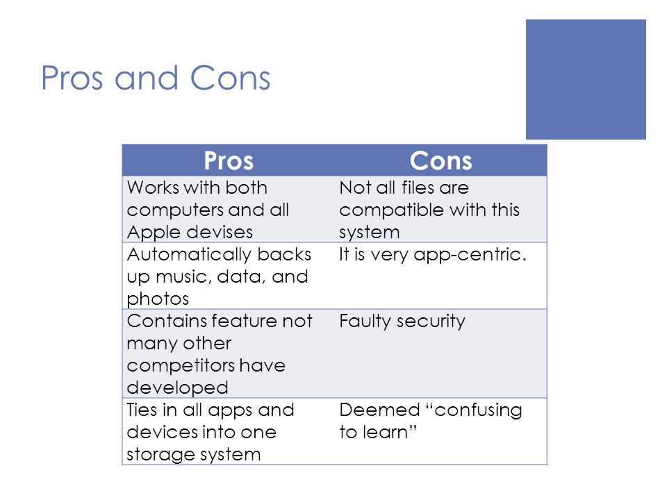 6 Pros And Cons