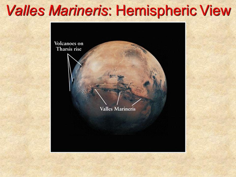 Valles Marineris: Hemispheric View