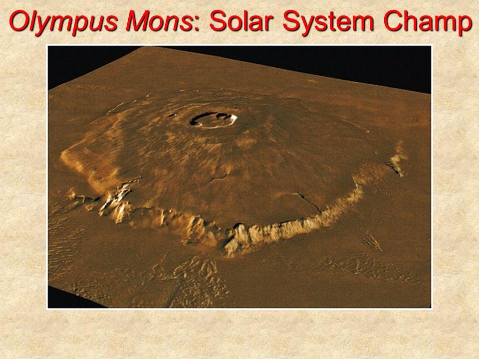 Olympus Mons: Solar System Champ