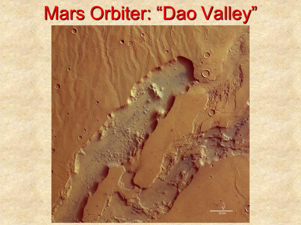 Mars Orbiter: Dao Valley