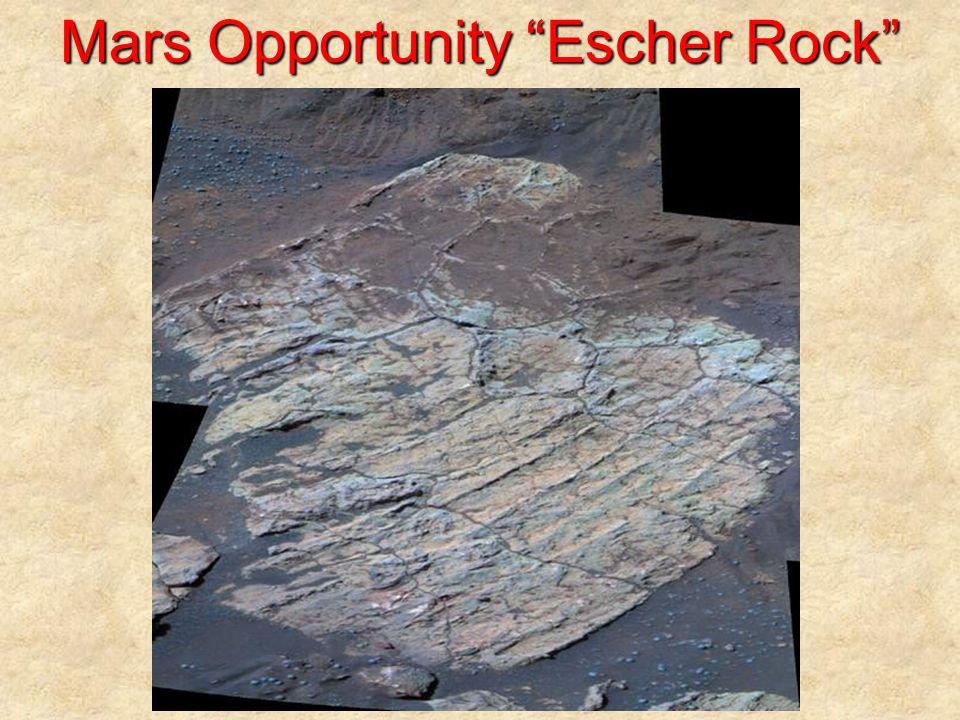Mars Opportunity Escher Rock