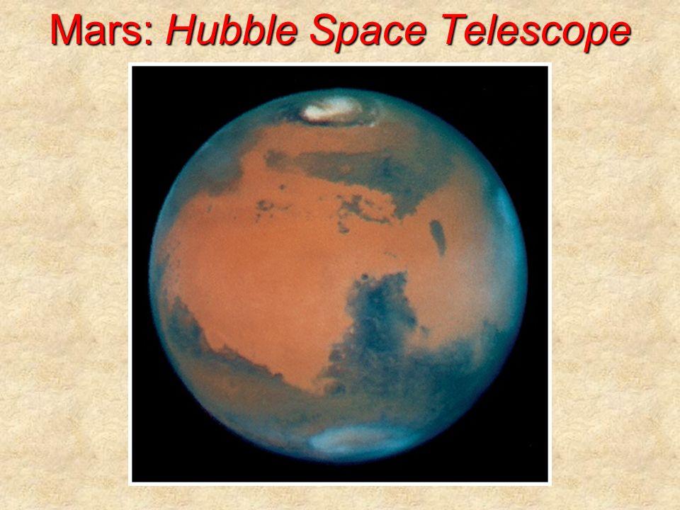 Mars: Hubble Space Telescope
