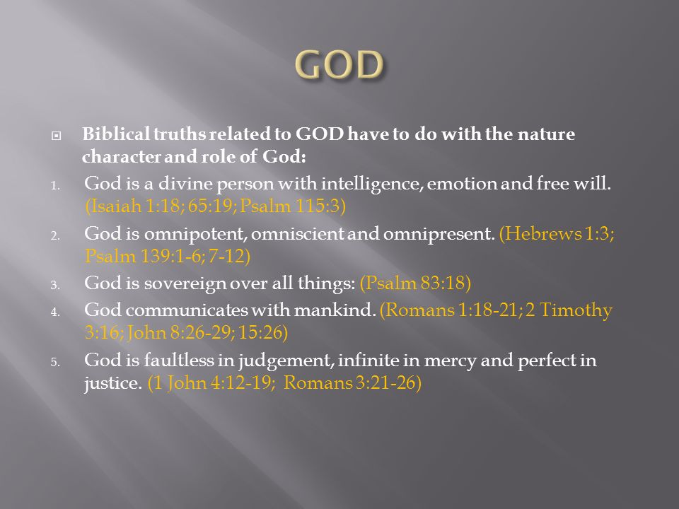 Verse God Omnipotent And Is Omniscient Omnipresent