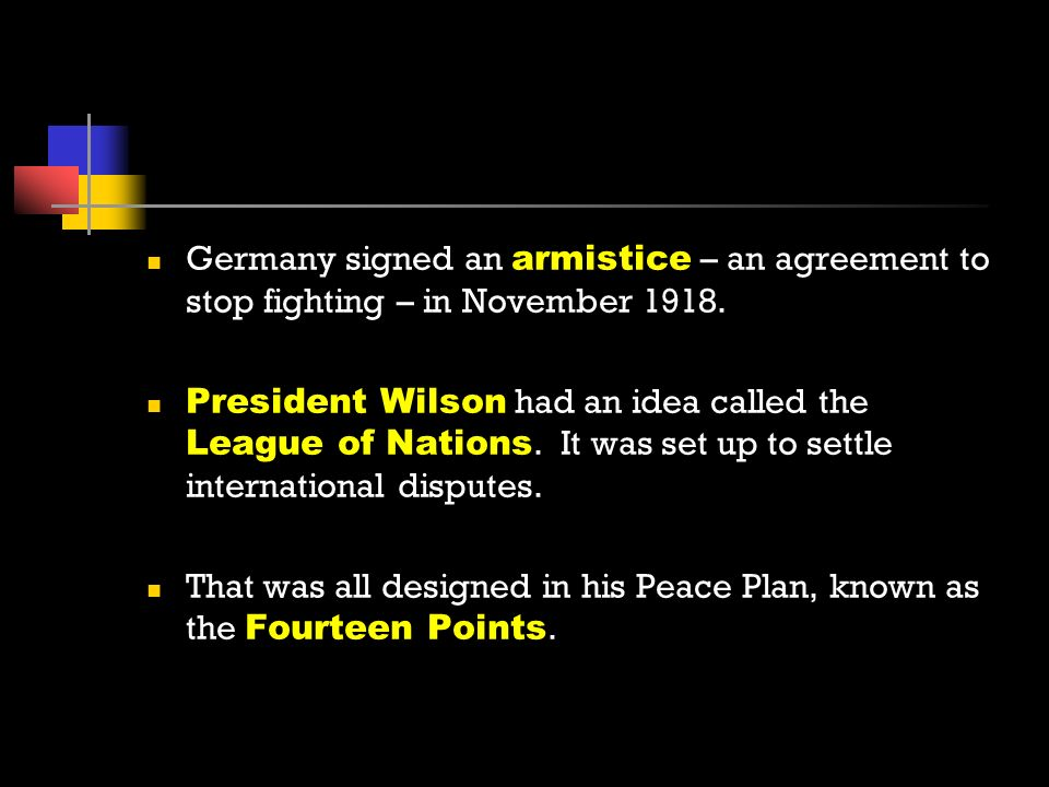 World war i unit eq what was the united states involvement in germany signed an armistice an agreement to stop fighting in november 1918 platinumwayz