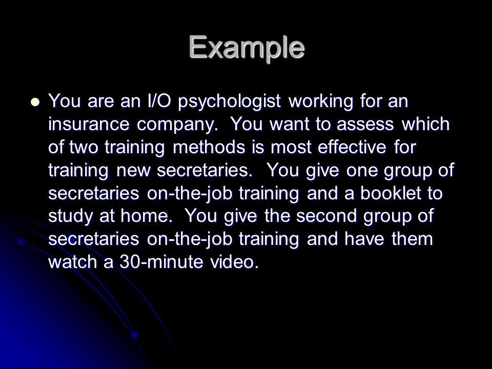 i o psychology