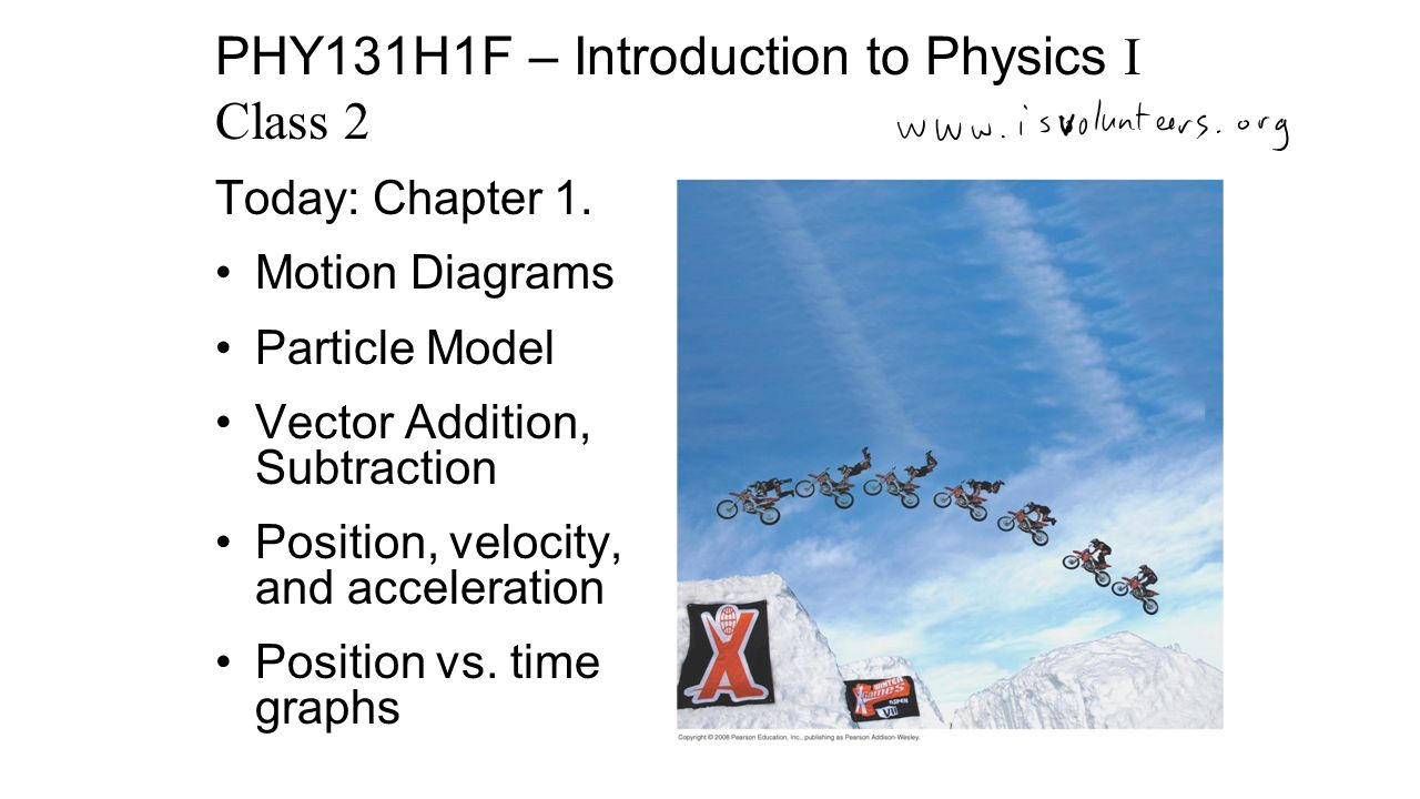 Today chapter 1 motion diagrams particle model vector addition 1 today chapter 1 motion diagrams particle pooptronica Images