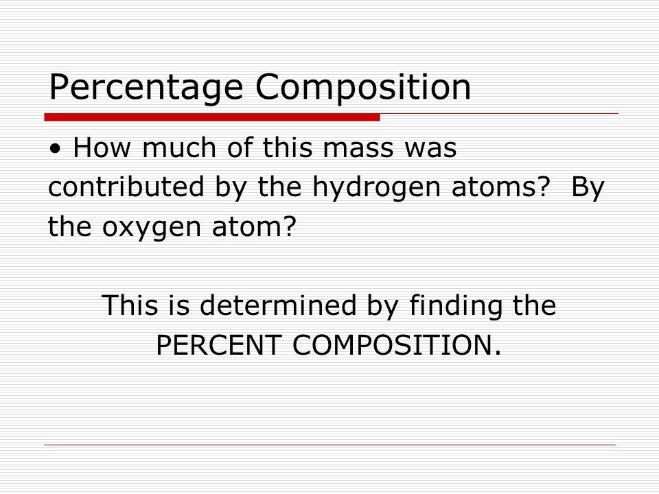 Percentage composition chemistry 11 ms mcgrath percentage 5 percentage composition how ccuart Image collections